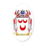Odell Oval Car Magnet