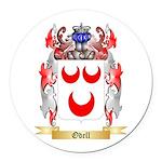 Odell Round Car Magnet