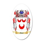 Odell 20x12 Oval Wall Decal