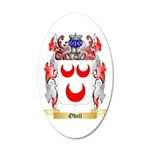 Odell 35x21 Oval Wall Decal