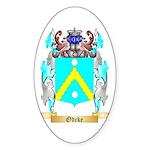 Odeke Sticker (Oval 50 pk)