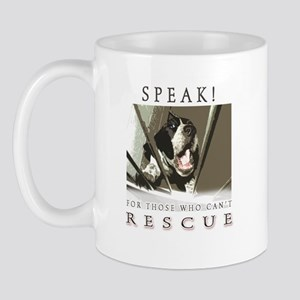 Speak! Rescue Mug