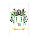 O'Dea Sticker (Rectangle 50 pk)