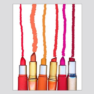 Lipstick colors Small Poster