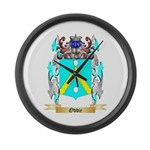 Oddie Large Wall Clock