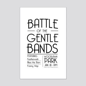 Battle of the Gentle Bands Posters