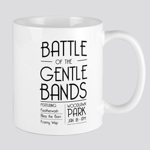 Battle of the Gentle Bands Mugs
