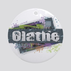 Olathe Design Round Ornament