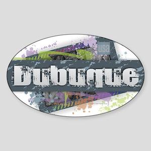 Dubuque Design Sticker