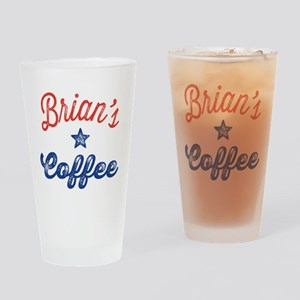 Brian Drinking Glass