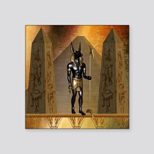 Anubis the egyptian god Sticker