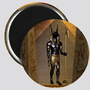 Anubis the egyptian god Magnets