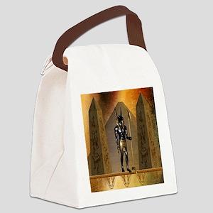 Anubis the egyptian god Canvas Lunch Bag