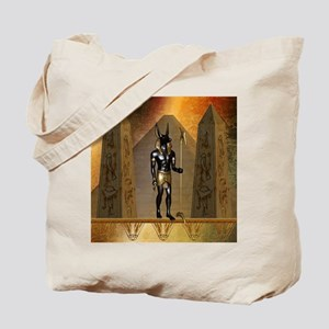 Anubis the egyptian god Tote Bag