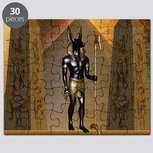 Anubis the egyptian god Puzzle
