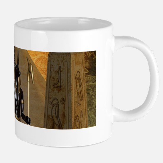 Anubis the egyptian god Mugs