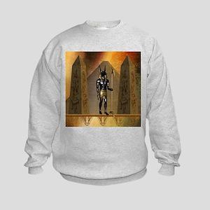 Anubis the egyptian god Sweatshirt