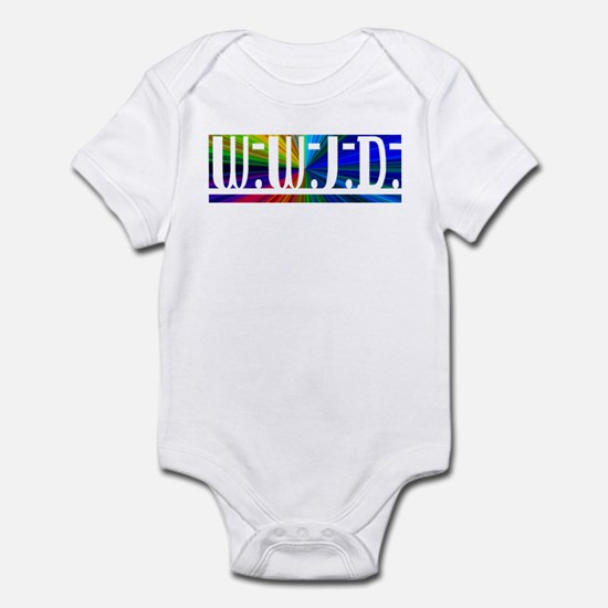 Burst WWJD Infant Bodysuit