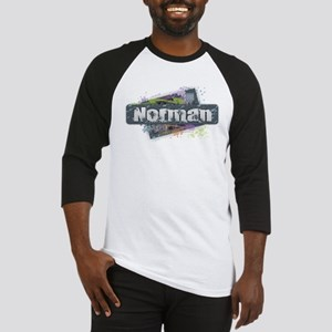 Norman Design Baseball Jersey