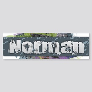 Norman Design Bumper Sticker