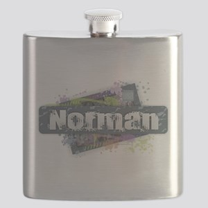 Norman Design Flask
