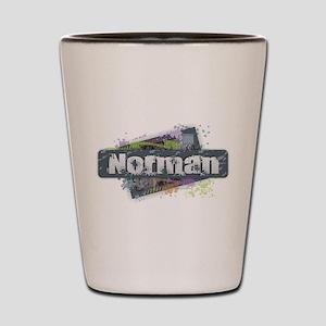 Norman Design Shot Glass