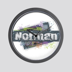 Norman Design Wall Clock