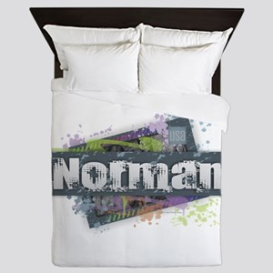 Norman Design Queen Duvet