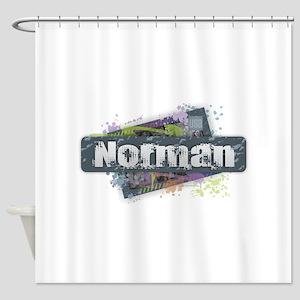 Norman Design Shower Curtain