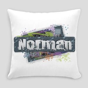 Norman Design Everyday Pillow