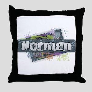 Norman Design Throw Pillow