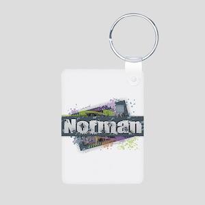 Norman Design Keychains