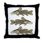 Giraffe Bubu Catfish Throw Pillow
