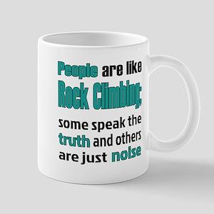 People are like Rock Climbing 11 oz Ceramic Mug