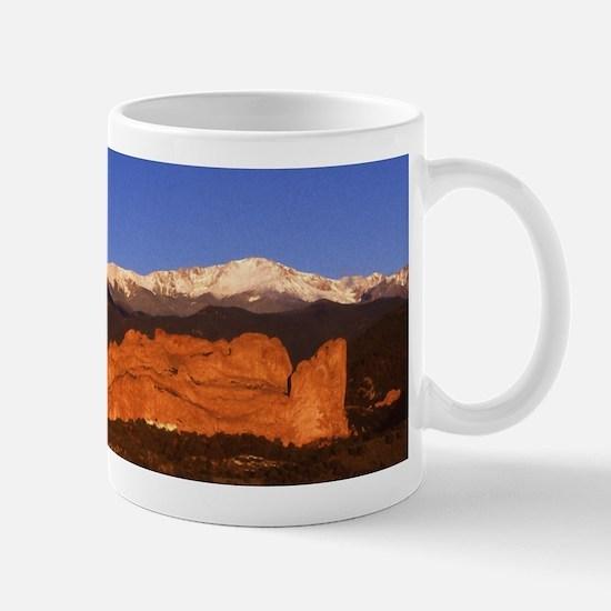 Garden of the Gods and Pikes Peak No 013 Mugs