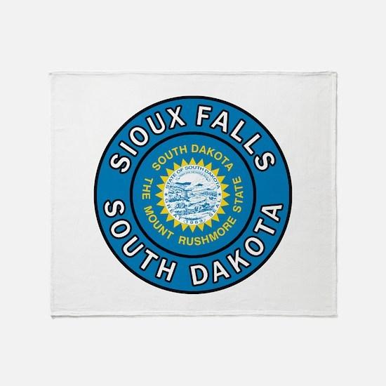 Sioux Falls Throw Blanket