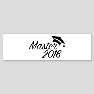 Master 2016 Sticker (Bumper)
