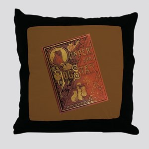 Under The Dog Star Throw Pillow