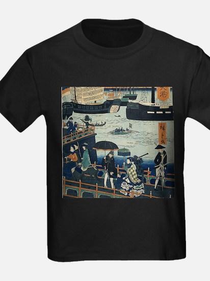 Ancient Ukiyo e Japanese Geisha T-Shirt