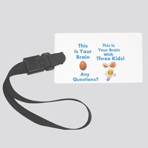 This is your brain humor Luggage Tag
