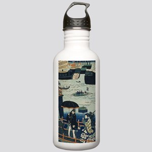 Ancient Ukiyo e Japan Stainless Water Bottle 1.0L