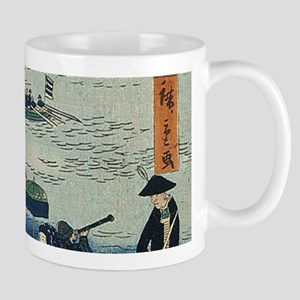 Ancient Ukiyo e Japanese Geisha Mugs