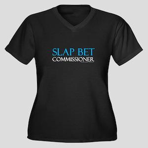 Slap Bet Commissioner Plus Size T-Shirt