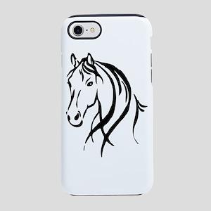 Horse Head iPhone 8/7 Tough Case