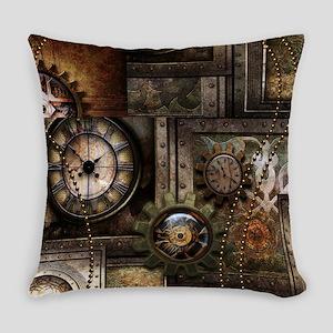 Steampunk, wonderful clockwork with gears Everyday