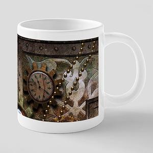 Steampunk, wonderful clockwork with gears Mugs