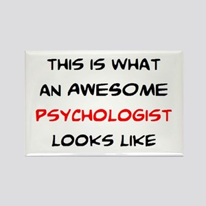 awesome psychologist Rectangle Magnet