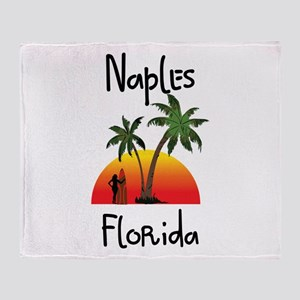 Naples Florida Throw Blanket