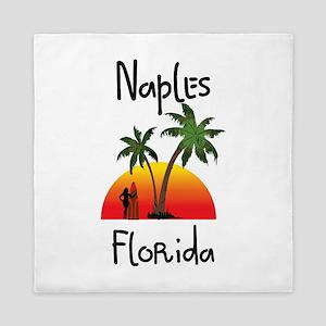 Naples Florida Queen Duvet