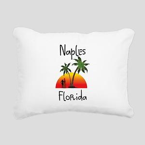 Naples Florida Rectangular Canvas Pillow